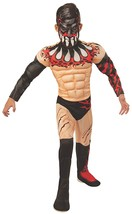 Finn Balor WWE Pro Wrestler Fancy Dress Up Halloween Deluxe Child Costume - $48.53