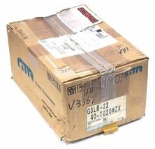 NIB NISSEI GTR G3LB-22-40-8020WZX 3-PHASE INDUCTION MOTOR MFG.NO. 64288996001