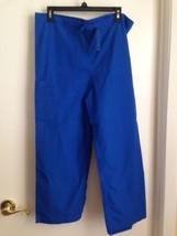 Closeout - Cherokee Workwear Blue Pull On Scrub Pants XS - $9.75