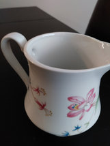 Meadows Flowers Fine Porcelain by Shafford Japan Creamer/Pitcher image 4