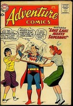 ADVENTURE COMICS #261-1959-SUPERBOY-ORIGIN AQUAMAN-RARE VG- - $56.75
