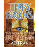 The Voyage of the Jerle Shannara Antrax Book 2 Terry Brooks 2001 1st - $5.93