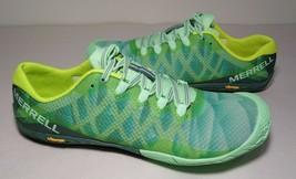 Merrell Size 9 M VAPOR GLOVE 3 Green Sneakers New Women's Shoes - $117.81
