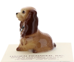 Hagen-Renaker Miniature Ceramic Dog Figurine Don Winton Cocker Spaniel Mama