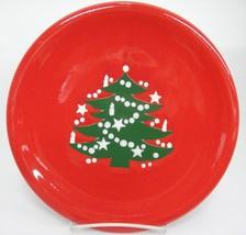 "Waechtersbach Christmas Tree 10"" Dinner Plate Nice with Paint Flaw on Edge - $24.74"