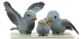 Hagen Renaker Miniature Bluebird Family Ceramic Figurine Set of 3 image 10