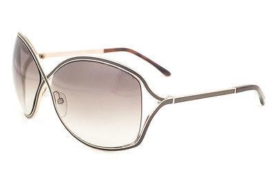 de2da53f5f 1. 1. Previous. Tom Ford Rickie Gold Brown   Brown Gradient Sunglasses TF179  48F · Tom Ford ...