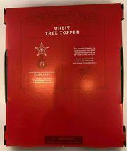 Star Tree Topper Gold Textured Foil Unlit Christmas Holiday Wondershop Target image 4