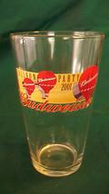 BUDWEISER ALBUQUERQUE BALLOON PARTY 2001 PINT GLASS WITH BALLOONS & LOGOS - $22.28