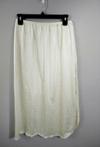 """Vanity Fair Womens L 32""""  Ivory Style 11--760 100% Nylon Made in USA Hal... - $11.26"""