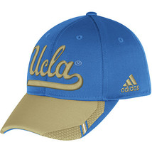 Adidas NCAA College UCLA BRUINS BLUE KHAKI Football Curved Hat Cap Size... - $15.00