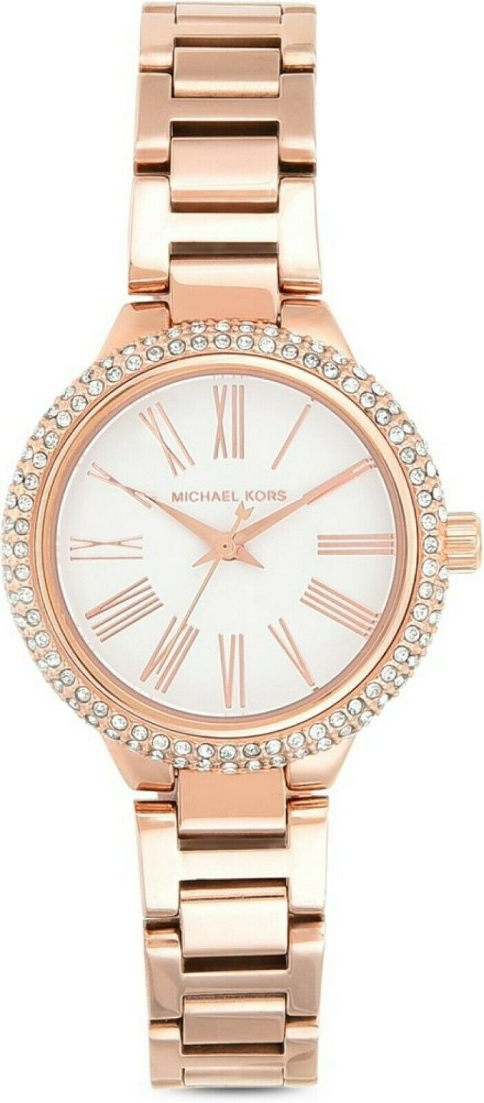 Primary image for Michael Kors Taryn Rose Gold Stainless Steel Watch Bracelet Set MK3858