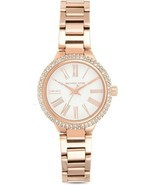 Michael Kors Taryn Rose Gold Stainless Steel Watch Bracelet Set MK3858 - $148.00