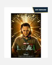 Disney's Loki Teaser One Sheet Poster 27x40 Original Poster Authentic NEW - $33.75