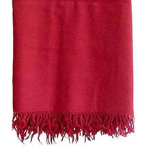 Woolen Meditation Shawl From Tibet Yoga Tibet Monks Red 100% Wool - $37.42
