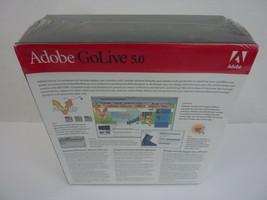 NEW - Adobe Golive 5.0 (MAC, Macintosh) NOS - SEALED - $39.55