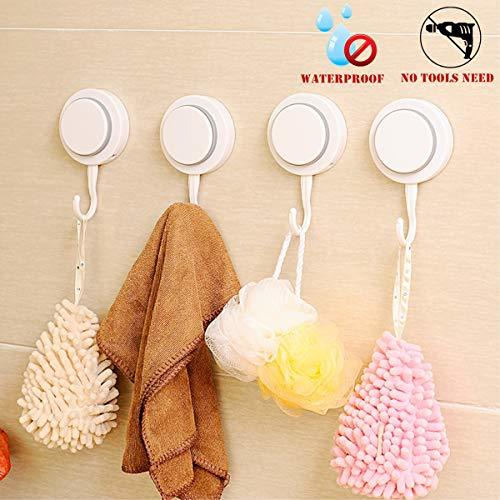 Walls Home & Decoration Powerful Suction Cup Hooks - Organizer Holder for Towel,