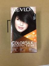 12 Lot Revlon COLORSILK Beautiful Color 11 SOFT BLACK w/ 3D Technology H... - $59.95