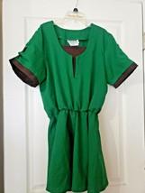 Link Adult Costume Legend Of Zelda Elf Warrior Green Tunic XL Charades R... - $1.99
