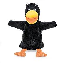 Sterntaler Hand Puppet Raven, 35 x 26 x 14 cm, Black