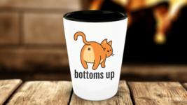 Bottoms Up Cat Butt Funny Shot Glass - €10,36 EUR