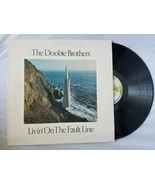 The Doobie Brothers Livin' On The Fault Line Vinyl Record Vintage 1977 W... - $47.42