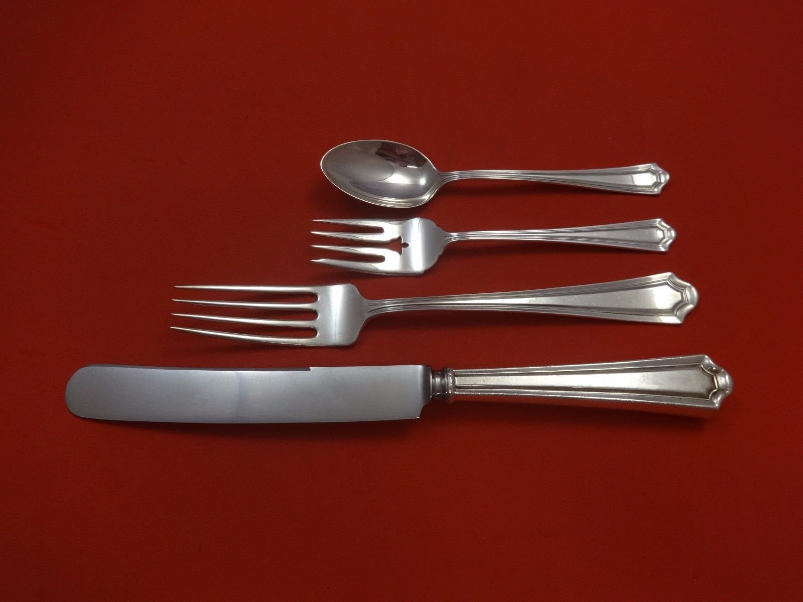 Primary image for Mary Warren by Manchester Sterling Silver Dinner Size Place Setting(s) 4pc