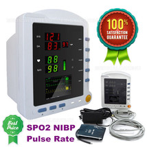 New patient monitor, NIBP blood pressure, SpO2, Pulse Rate Vital signs M... - $206.35