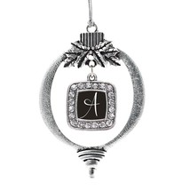 Inspired Silver My Script Initials - Letter A Classic Holiday Decoration Christm - $14.69