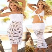Convertible Crochet Skirt Women Cover Up - $29.00