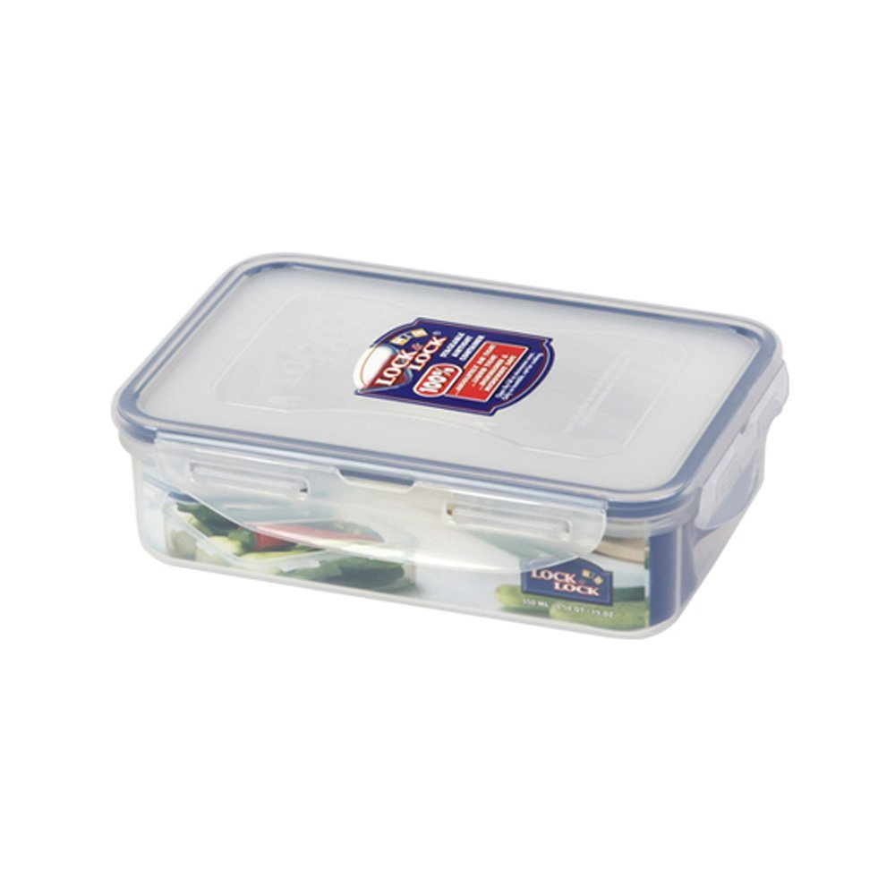 Primary image for Lock & Lock BPA Free Classic Rectangular Container with Leak Proof Locking Lid,