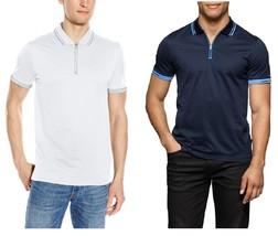 Calvin Klein Men's S/s Mix Media Mercer shirt - £19.11 GBP