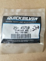 Mercury Quicksilver: O-Ring,  25-45710 - Qty 1 - $2.62