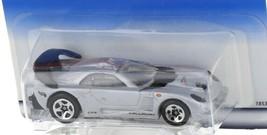 1998 Hot Wheels First Editions Silver Callaway C-7 Super Car