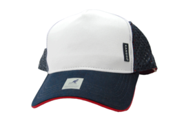 Kangol Americana  Perforated Trucker Snapback Baseball Style Cap Hat - $23.70