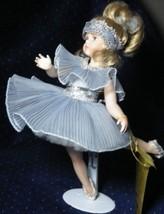 "Seymour Mann LITTLE PAVLOVA Porcelain Doll Blue Dress NIB 13"" COA - $44.43"