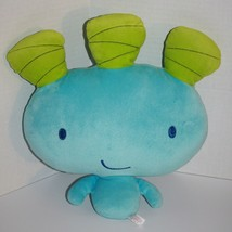 """Maryoku Yummy Blue Green OOKA 13"""" Soft Toy 2008 Commonwealth Plush Tooth Pillow - $17.32"""
