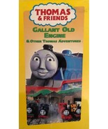 Thomas & Friends Gallant Old Motor VHS 1994-TESTED-RARE Vintage-Ships N ... - $48.33