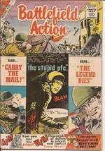 Charlton Battlefield Action #30 The Legend Dies Carry The Mail War Action - $9.95