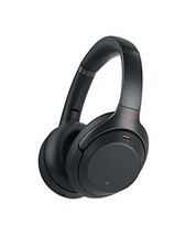 Sony Noise Cancelling Headphones WH1000XM3: Wireless Bluetooth Over the (Black) - $504.62