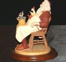Days to Remember - Norman Rockwell Santa with Helpers Figurine AA19-1648 Vintag image 3