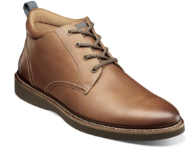 Nunn Bush Ridgetop Plain Toe Chukka Boot Tan Leather 84825-240 - €80,61 EUR