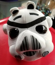 """ANGRY BIRDS STORMTROOPER Plush Pillow 8"""" Star Wars Commonwealth 2012 - $8.90"""