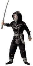 Dark Zombie Ninja 2B Chld 10  Costume - $31.16