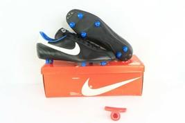 NOS Vintage 80s Nike Mirage SG Detachable Soccer Cleats Black Mens 10.5 ... - $59.35
