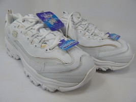 Skechers D'Lites Size US 10 M (B) EU 40 Women's Training Shoes White