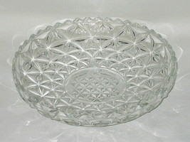 Imperial Mount Vernon Pattern Clear 8-inch Footed Bowl - $19.75