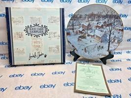 "Lowell Davis 8 1/2"" Collector Plate ""Country School"" Schmid 1299/5000 '8... - $86.61"