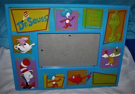 """Dr Seuss picture frame 10 by 8"""" picture 5 by 3"""" - $23.41"""