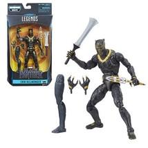 Black Panther Marvel Legends 6-Inch Erik Killmonger Comic Action Figure - $22.95